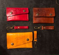 Leather accessories  Handmade🙂