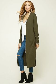 the search for security and satisfaction | Olive green cardigan ...