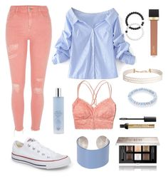 """""""Colour Coordinated"""" by averymsn on Polyvore featuring WithChic, Hollister Co., River Island, Converse, Humble Chic, Jouer, Givenchy, Lokai, Maison Margiela and Sydney Evan"""