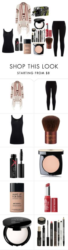 """""""How to wear leggings"""" by sup-16 ❤ liked on Polyvore featuring maurices, Juvia, Bourjois, Smashbox, Chanel, MAKE UP FOR EVER, Bare Escentuals, Lord & Berry and Vera Bradley"""