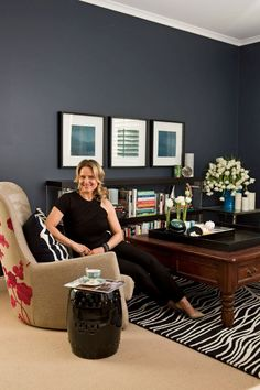 Check out how amazing our Tribal Sands rug looks!! A sneak peek from Shaynna Blaze's new book