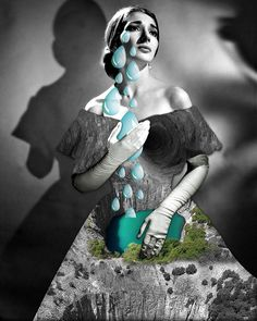 Deep hole by Ile Machado collage, vintage The Darkest, Collage Vintage, Photo And Video, Loneliness, Disney Princess, Disney Characters, Deep, Instagram, Art