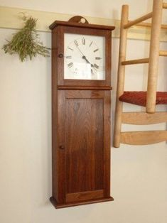Shaker Wall Clocks - Ideas on Foter Old Wall, Clock, Shaker, Woodworking Projects, Wall, Shaker Clocks, Wall Clock, Woodworking Cabinets, Shaker Style