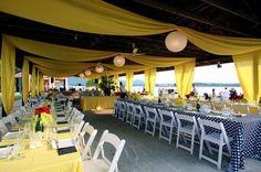 Pavilion wedding or party decoration