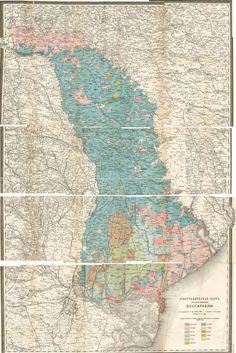 Ethnographic map of Bessarabia / by Lev Semyonovich Berg (1907)