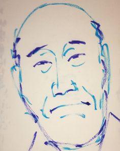 いいね!6件、コメント1件 ― @1mindrawのInstagramアカウント: 「#1mindraw #miyakoyautaroku #都家歌六 #8代目 #musicalsaw #ミュージックソー #落語家 #19300725 #birthday #誕生日…」