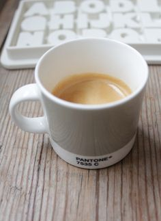 Out of all the Pantone colors, I want the gray mug the most. Figures