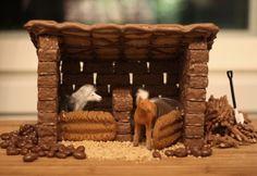 Heppatalli kekseistä Firewood, Stuffed Mushrooms, Texture, Vegetables, Crafts, Food, Stuff Mushrooms, Surface Finish, Woodburning