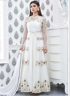 Buy Dresses Online Picture designer dresses online shopping india with price buy Buy Dresses Online. Here is Buy Dresses Online Picture for you. Buy Dresses Online discount a line we. Indian Dresses For Women, Indian Outfits, Suits For Women, Indian Clothes, Desi Clothes, Designer Anarkali, Designer Gowns, Designer Wedding Dresses, Designer Wear