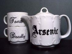 Deadly tea set.