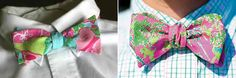 For the groom. #LillyPulitzer #SouthernWeddings