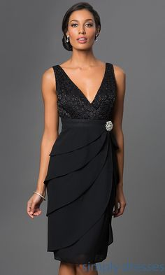 Shop knee-length mother-of-the-bride dresses and plus-size dresses at Simply Dresses. Short bridesmaid dresses with matching lace bolero jackets. Mob Dresses, Plus Size Dresses, Fashion Dresses, Formal Dresses, Wrap Dresses, Linen Dresses, Party Dresses, Night Gown Dress, Evening Dresses