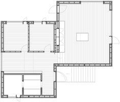 Vega Cottage by Kolman Boye Architects references weathered Norwegian boathouses