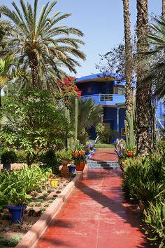 Majorelle Garden - Morocco