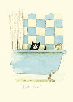 Bath Cat d'Alison Friend