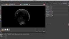 Cinema 4D : Creating a Planetary Grid Sphere - Cinema 4D