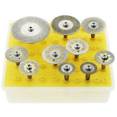$5.28 (Buy here: https://alitems.com/g/1e8d114494ebda23ff8b16525dc3e8/?i=5&ulp=https%3A%2F%2Fwww.aliexpress.com%2Fitem%2FHot-10PCS-Diamond-Grinding-Saw-Discs-Wheel-Blade-Mini-Circular-Saw-Cutting-Rotary-Tools-Kits-Set%2F32748268710.html ) Hot 10PCS Diamond Grinding Saw Discs Wheel Blade Mini Circular Saw Cutting Rotary Tools Kits Set 16/18/22/25/30/40mm for just $5.28