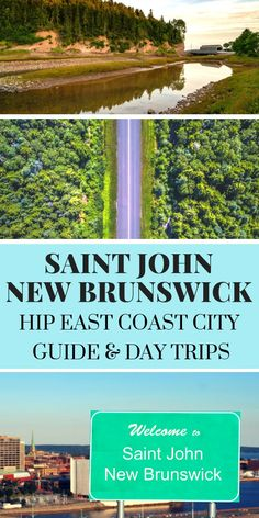 Looking for things to do in Saint John New Brunswick? This city guide gives ideas for day trips, city tours and where to stay in Saint John. St John's Canada, Visit Canada, Saint John Canada, Saint John New Brunswick, New Brunswick Canada, New England Cruises, New England Travel, Cruise Vacation, Vacation Trips