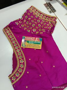 Half Saree Designs, Pattu Saree Blouse Designs, Best Blouse Designs, Simple Blouse Designs, Stylish Blouse Design, Blouse Neck Designs, Hand Work Blouse Design, Maggam Work Designs, Maggam Works