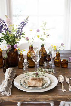 6 tips för en snygg midsommar dukning billigt