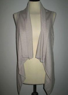 * * * Sinéquanone Strick-Gilet Weste beige, T.2/ca.D 36 * * * Blazer, Sweaters, Jackets, Ebay, Women, Fashion, Clothing Accessories, Vest, Fashion Women