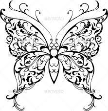 Image result for floral decorative butterfly patterns