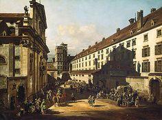 Dominikanerkirche in Vienna Canaletto
