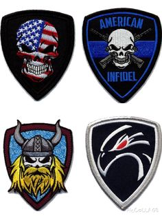 New patches coming soon. Velcro Patches cdb693081423