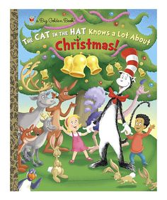 Take a look at this The Cat in the Hat Knows a Lot About Christmas! Hardcover today!