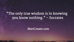Quote of the Day  ★ Like this?  Sharing is caring!★  #QuoteOfTheDay #Quote #qotd  #MCqotd  <— Click for my previous quotes of the day.  #Socrates #Wisdom #Success #Life