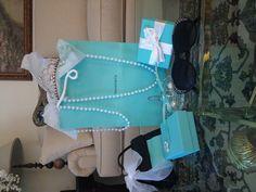 Breakfast at Tiffany's themed bridal shower! #tiffanyblue #tiffanys