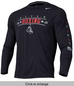 TITLE Boxing Nike Legend Long Sleeve Tee - click to enlarge Title Boxing cb46790716fdb
