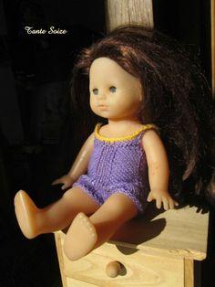 Maillot de bain #Cupcake #poupée corolle