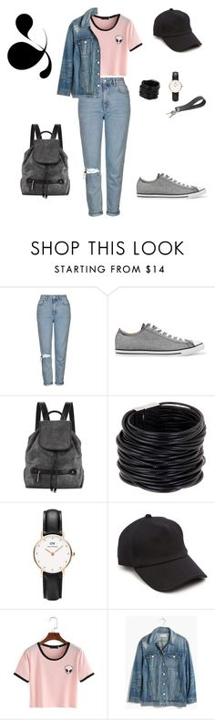 """It's Wednesday"" by cammy-2396 ❤ liked on Polyvore featuring Topshop, Converse, Halston Heritage, Saachi, Daniel Wellington, rag & bone, Madewell and Gräf & Lantz"