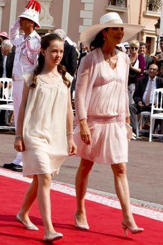 Carolina de Mónaco: el 'glamour' de una madrina