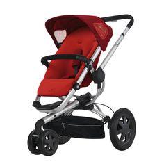 Quinny Buzz 3 kinderwagen | Rebel Red 2012  De Quinny Buzz kinderwagen biedt comfort en gebruiksgemak vanaf de geboorte. Deze kinderwagen past zich namelijk helemaal aan naar jouw wensen! Het zitje kan van je af of naar je toe worden gezet de voetensteun is verstelbaar en de duwstang kan simpel in hoogte worden versteld. Doordat de Quinny Buzz naast de meegeleverde zitting ook gecombineerd kan worden met een Maxi-Cosi baby-autozitje of een kinderwagenbak biedt deze kinderwagen optimaal…