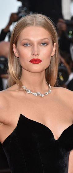 Toni Garrn - Best Makeup @ Cannes Film Festival, 2016.