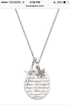 Tocara, Inc. - Live your style. Love your life. Beautiful Words For Mother, Des Accents D'or, Argent Sterling, Sterling Silver, Fine Jewelry, Women Jewelry, Jewellery, Serenity Prayer, Jewelry Design
