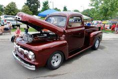 ford pickup trucks | 1951 Ford F-1 Pickup Truck