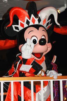 MICKEY. Mickey Mouse. Joker.  Disney. #Disneyland #Disneyworld