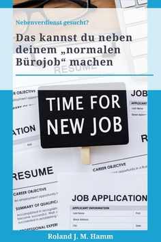 Affiliate-Marketing – ideales Onlinebusiness neben deinem Job Career Objectives For Resume, Ralf Schmitz, First Resume, Street Names, Employment Opportunities, New Job, Affiliate Marketing, Reference Book, Make Money On Internet