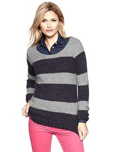 Striped scoop sweater | Gap ...Yes Please!