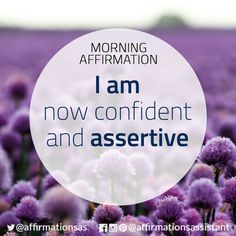 "Affirmation: ⠀ ⠀ ""I am now confident and assertive""⠀ ⠀ #affirmation #affirmations #morningaffirmation #morningaffirmations #positiveaffirmations #positive #successtrain #happiness #motivation #motivational #ThriveTOGETHER"