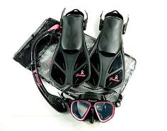 Scuba...understated pink accents (girly, without the over-the-top Malibu Barbie feel) - Seavenger Dive Set