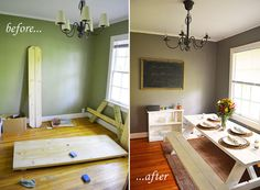indoor picnic table: dining area trend | picnic tables, picnics