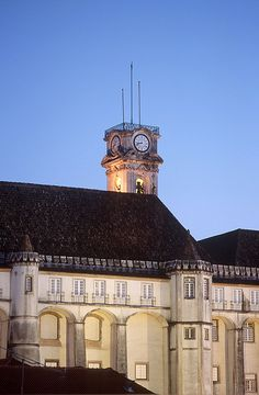 Coimbra - Tower of Coimbra University | Via Flickr ARPT Centro de Portugal