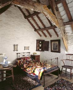 The North Bedroom in The Old Post Office at Tintagel