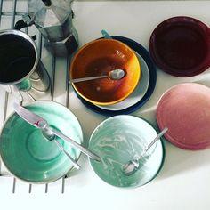 E abbiate pazienza, che ci posso fare se son belli anche sporchi 😜 #leciotoledicaia #colazione
