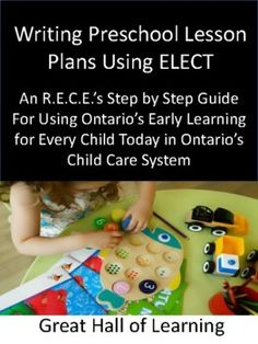 If you are a new teacher or have been teaching for years in an Ontario daycare and have to follow the ELECT format from the Ministry of Education, it's time consuming and draining to write up your lesson plans.This package is all you need and will make your life easier with templates and samples.Obs...