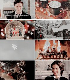 James and Sirius - Merry Christmas! - Christmas was James Potter's favorite holiday since he was 5 and his parents gave him his first race broom. Christmas was Sirius Black's favorite holiday since he was 11 and saw James Potter's 'christmas smile' for the first time.